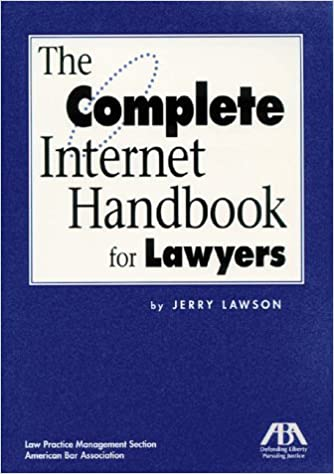 Book: Complete Internet Handbook for Lawyers